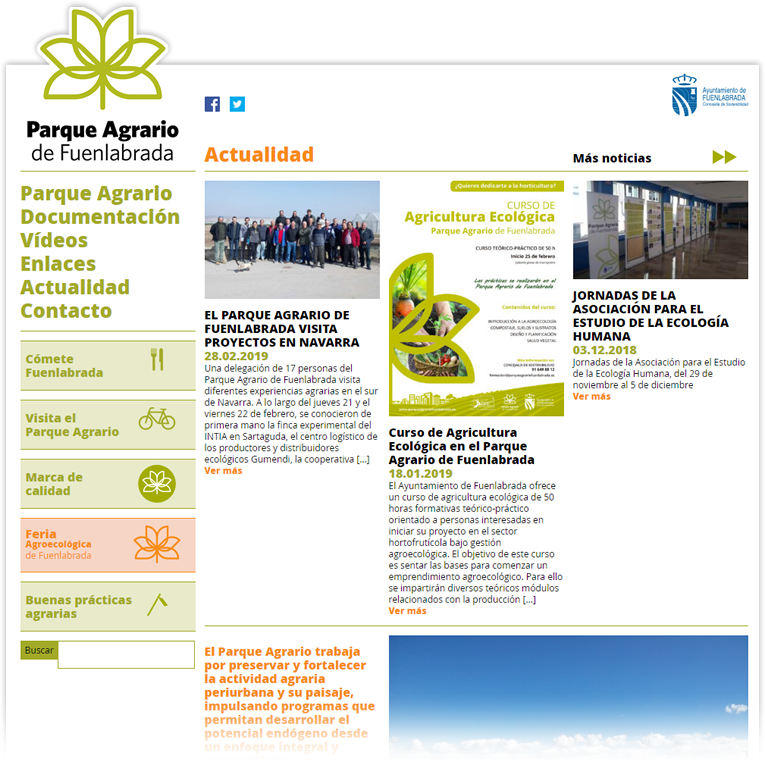 Parque Agrario de Fuenlabrada BioatlasApp Grupo Heliconia