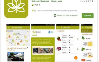 Aplicación móvil Parque Agrario de Fuenlabrada