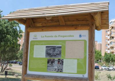 Panel infomativo1 Parque Agrario Fuenlabrada
