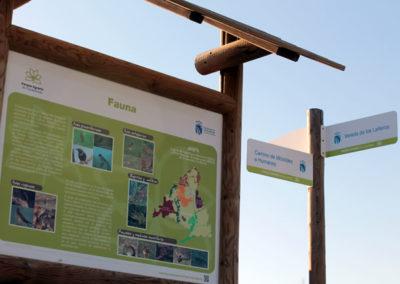 Señalizacion Parque Agrario Fuenlabrada